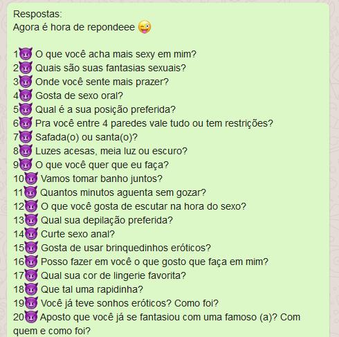 Perguntas E Respostas P Whatsapp Conversa E Status
