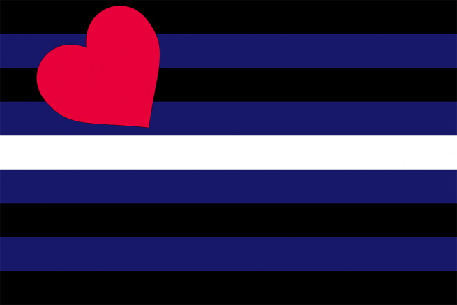 Couro, Látex, & Bandeira BDSM