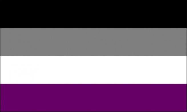Bandeira assexuada