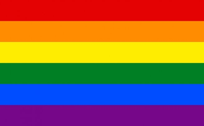 Bandeira Tradicional do Orgulho Gay