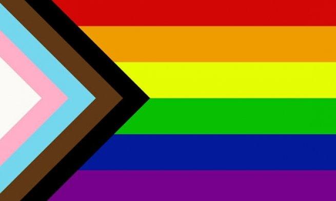 Bandeira do Orgulho do Progresso