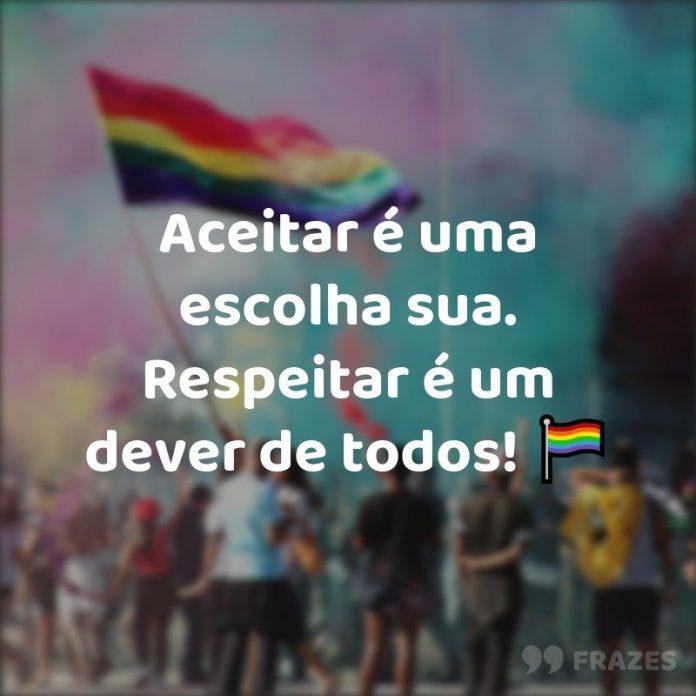 Frases e legendas Gay LGBTQ+
