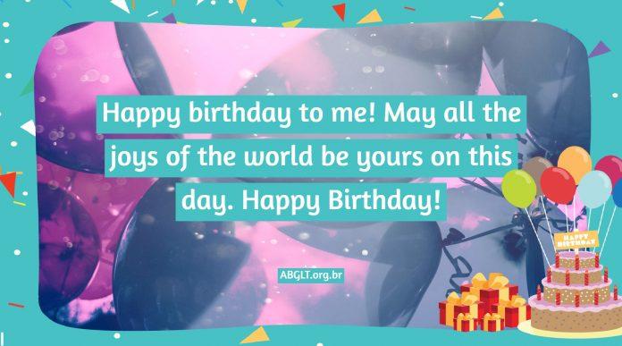 Happy Birthday message (congratulations sentences)