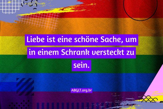 Homosexuell Sätze LGBT